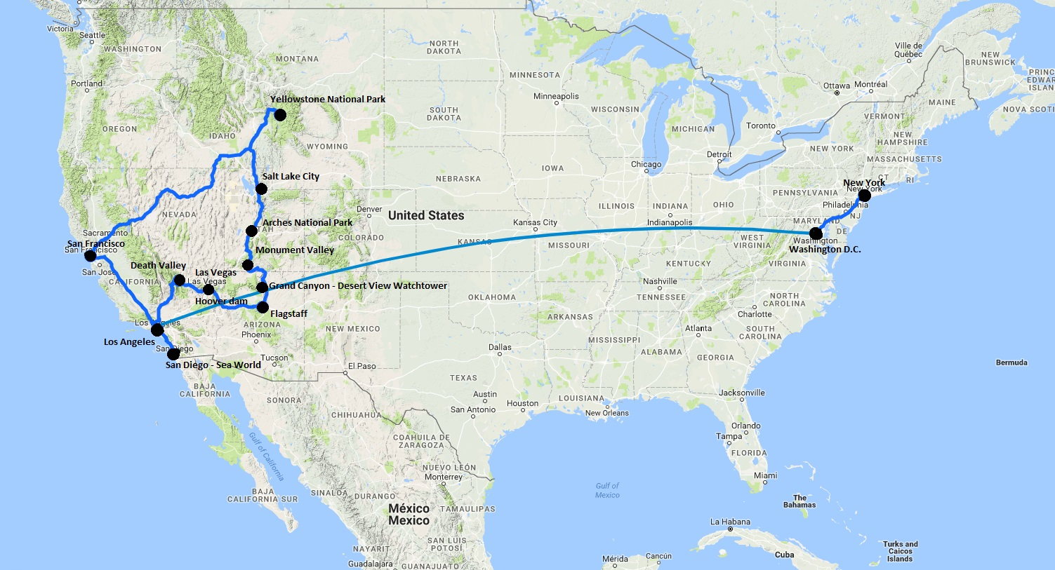 Amerika Travelonwheels